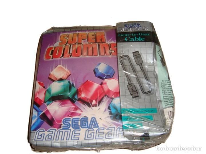 JUEGO SUPER COLUMNS DE SEGA GAME GEAR AÑO 95 INCLUYE CABLE PRECINTADO!!! (Juguetes - Videojuegos y Consolas - Sega - GameGear)