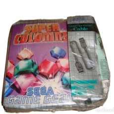 Videojuegos y Consolas: JUEGO SUPER COLUMNS DE SEGA GAME GEAR AÑO 95 INCLUYE CABLE PRECINTADO!!!. Lote 29085041