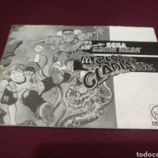 Videojuegos y Consolas: MANUAL GLOBAL GLADIATOR, GAME GEAR. Lote 198689533