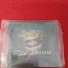 Videojuegos y Consolas: JUEGO GAME GEAR AYRTON SENNA'S SUPER MONACO GP II. Lote 199129848