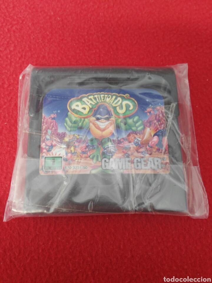 JUEGO GAME GEAR BATTLETOADS (Juguetes - Videojuegos y Consolas - Sega - GameGear)