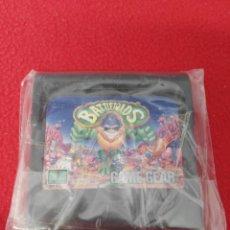 Videojuegos y Consolas: JUEGO GAME GEAR BATTLETOADS. Lote 199130078