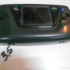 Videojuegos y Consolas: ANTIGUA CONSOLA GAMEGEAR. Lote 200395720