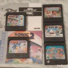 Videojuegos y Consolas: LOTE JUEGOS GAME GEAR. Lote 200886251