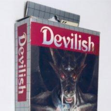 Videojuegos y Consolas: [CAJA ESTUCHE,BLISTER Y MANUAL] DEVILISH [GENKI] 1992 [HOT-B] [SEGA GAME GEAR]. Lote 201120282