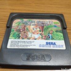 Videojuegos y Consolas: JUEGO CHUCK ROCK II SON OF CHUCK SEGA GAME GEAR. Lote 201559758