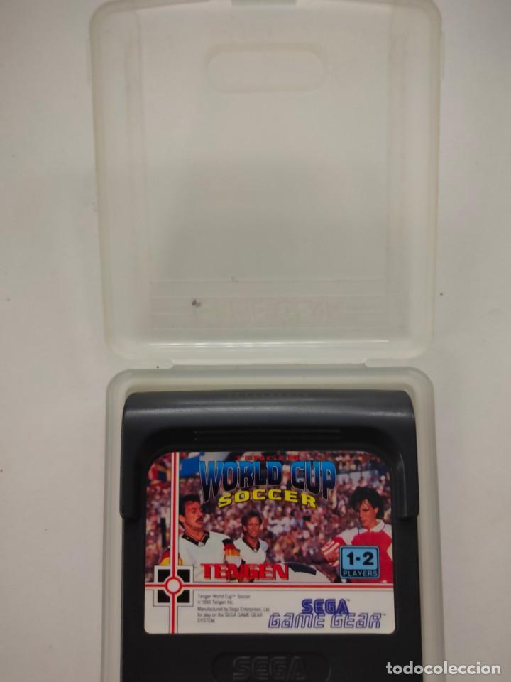 SEGA GAME GEAR JUEGO WORLD CUP SOCCER TENGEN (Juguetes - Videojuegos y Consolas - Sega - GameGear)