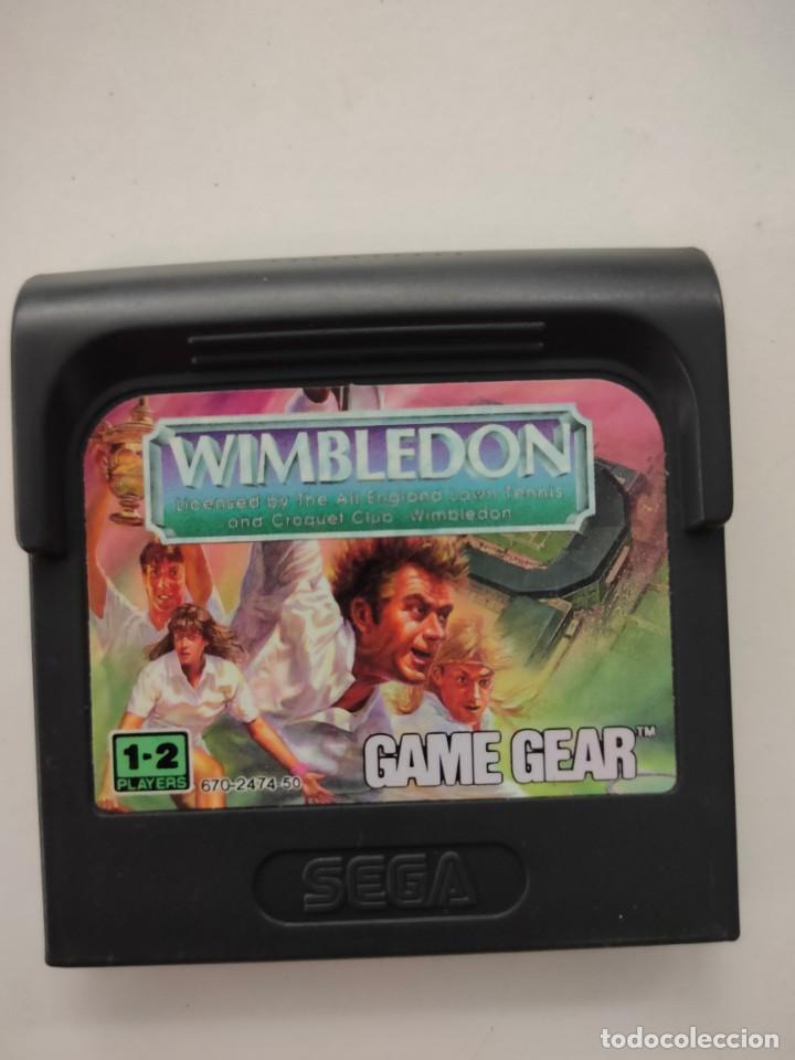 SEGA GAME GEAR JUEGO WIMBLEDON (Juguetes - Videojuegos y Consolas - Sega - GameGear)