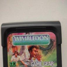 Videojuegos y Consolas: SEGA GAME GEAR JUEGO WIMBLEDON. Lote 277662288