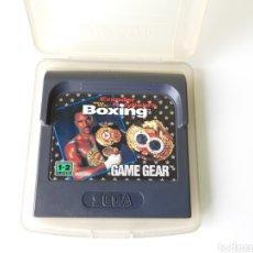 Videojuegos y Consolas: BOXING SEGA GAME GEAR. Lote 278316468