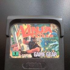 Videojuegos y Consolas: JUEGO GAME GEAR, NINJA GAIDEN. Lote 203555700