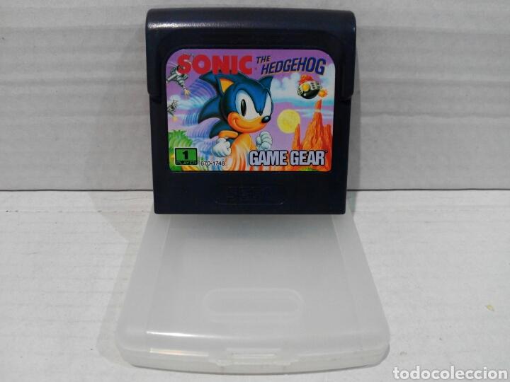 SONIC GAME GEAR SEGA (Juguetes - Videojuegos y Consolas - Sega - GameGear)