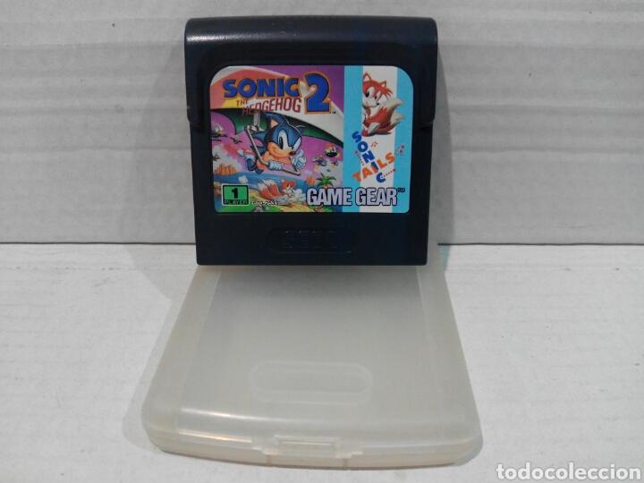 SONIC 2 GAME GEAR SEGA (Juguetes - Videojuegos y Consolas - Sega - GameGear)