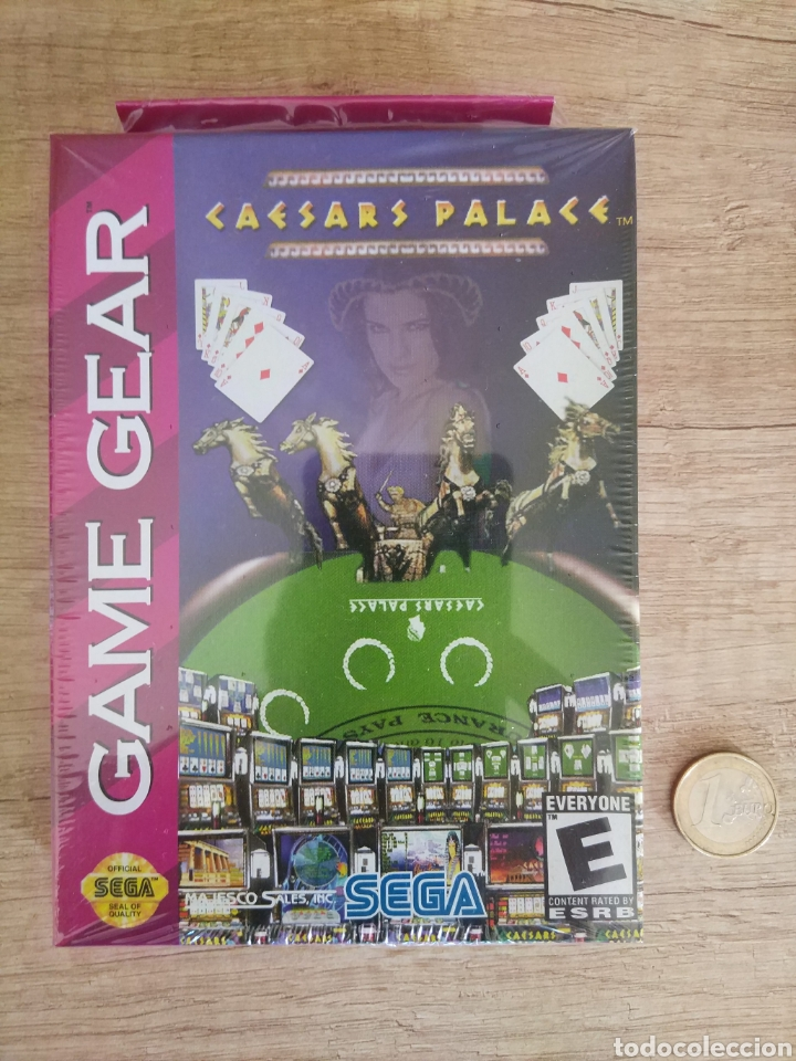 Videojuegos y Consolas: Lote 13 juegos Caesars Palace. Precintados Game Gear SEGA + Cajas de Fabrica - Foto 6 - 205393636