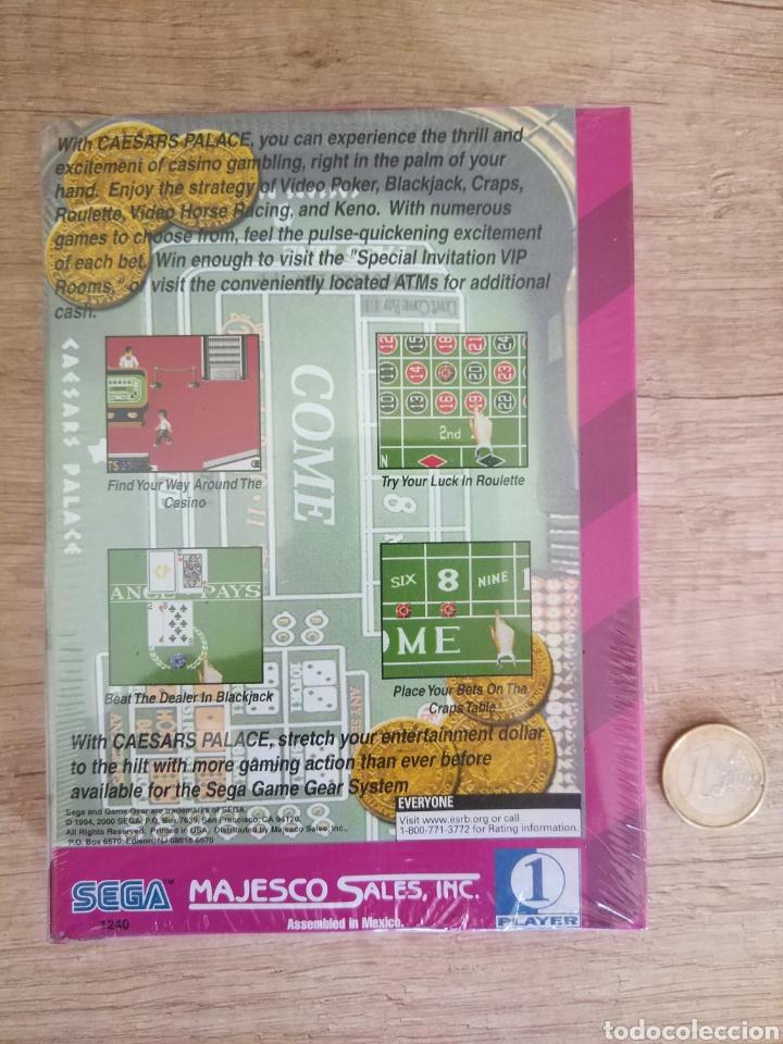 Videojuegos y Consolas: Lote 13 juegos Caesars Palace. Precintados Game Gear SEGA + Cajas de Fabrica - Foto 7 - 205393636