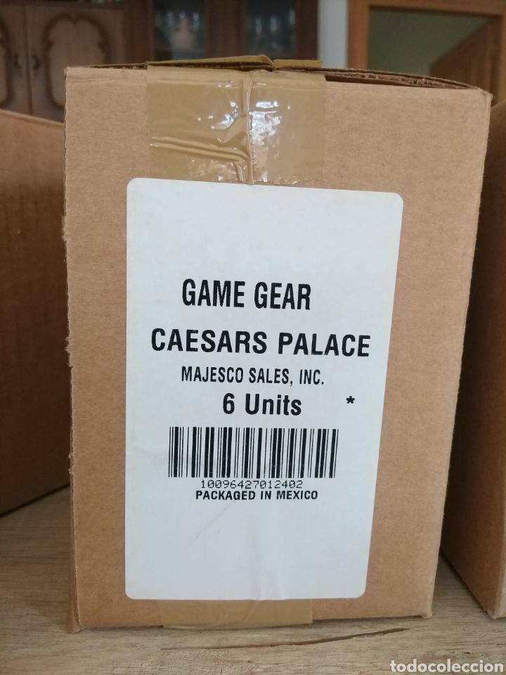 Videojuegos y Consolas: Lote 13 juegos Caesars Palace. Precintados Game Gear SEGA + Cajas de Fabrica - Foto 8 - 205393636