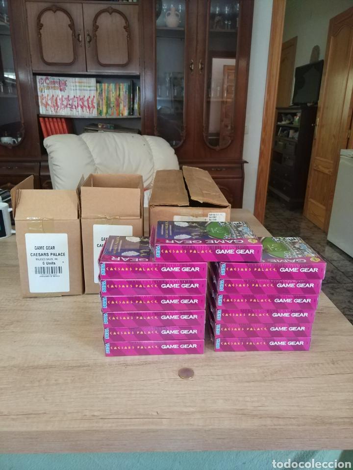 Videojuegos y Consolas: Lote 13 juegos Caesars Palace. Precintados Game Gear SEGA + Cajas de Fabrica - Foto 12 - 205393636