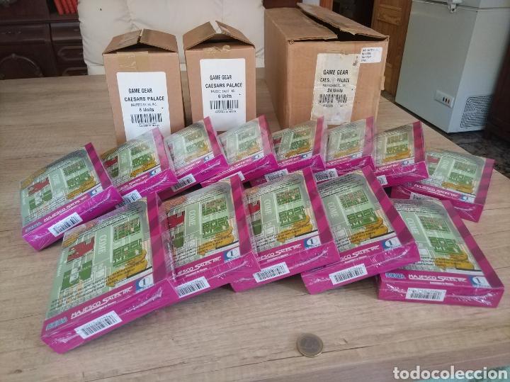 Videojuegos y Consolas: Lote 13 juegos Caesars Palace. Precintados Game Gear SEGA + Cajas de Fabrica - Foto 15 - 205393636