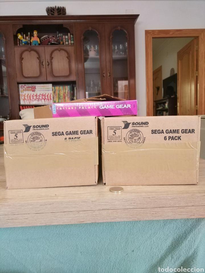 Videojuegos y Consolas: Lote 13 juegos Caesars Palace. Precintados Game Gear SEGA + Cajas de Fabrica - Foto 18 - 205393636