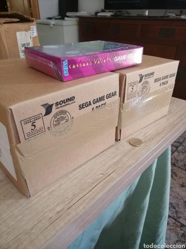 Videojuegos y Consolas: Lote 13 juegos Caesars Palace. Precintados Game Gear SEGA + Cajas de Fabrica - Foto 19 - 205393636