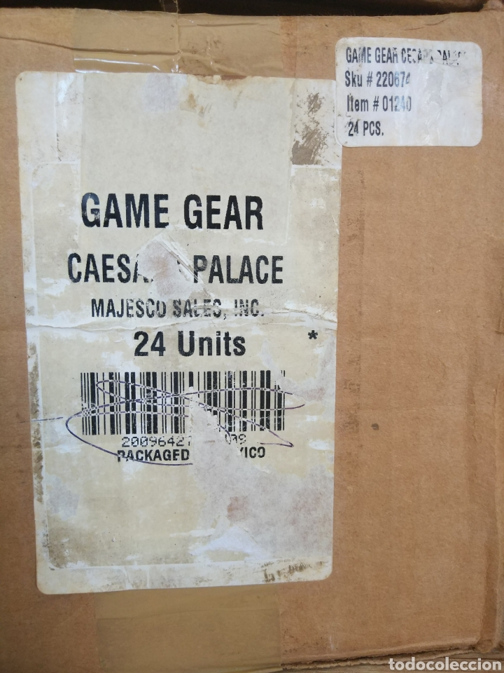Videojuegos y Consolas: Lote 13 juegos Caesars Palace. Precintados Game Gear SEGA + Cajas de Fabrica - Foto 21 - 205393636