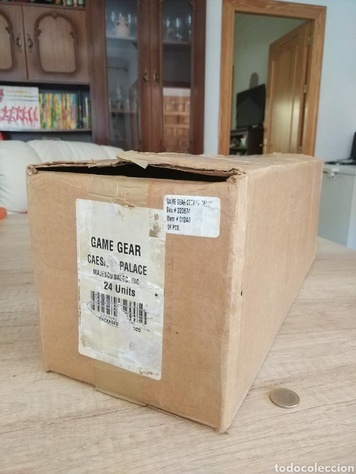 Videojuegos y Consolas: Lote 13 juegos Caesars Palace. Precintados Game Gear SEGA + Cajas de Fabrica - Foto 24 - 205393636