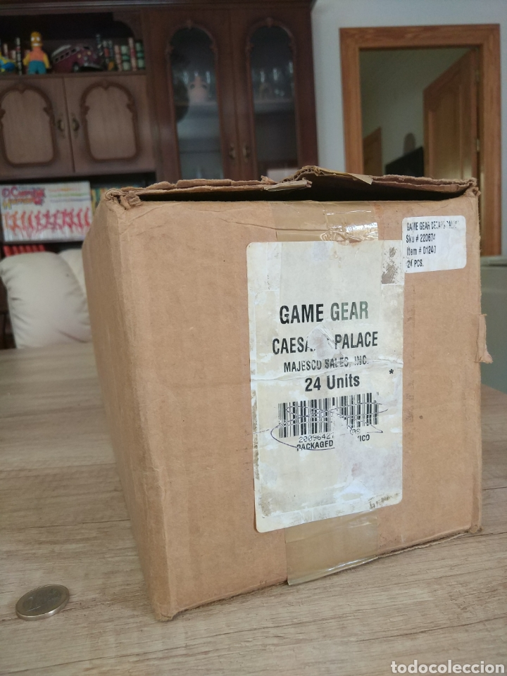 Videojuegos y Consolas: Lote 13 juegos Caesars Palace. Precintados Game Gear SEGA + Cajas de Fabrica - Foto 25 - 205393636
