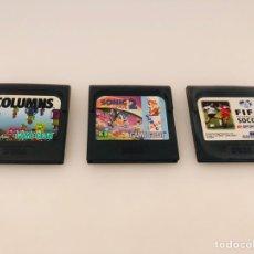 Videojuegos y Consolas: GAME GEAR LOTE CARTUCHOS. Lote 205659098