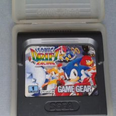 Videojuegos y Consolas: SEGA GAME GEAR SONIC HEDGEHOG DRIFT RACING CARTUCHO+FUNDA ORIGINAL PAL RARO!! R11029. Lote 205794462