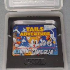 Videojuegos y Consolas: SEGA GAME GEAR TAILS ADVENTURE CARTUCHO+FUNDA ORIGINAL PAL RARISIMO!! R11031. Lote 205794562