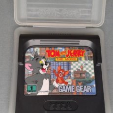 Videojuegos y Consolas: SEGA GAME GEAR TOM AND JERRY THE MOVIE CARTUCHO+FUNDA ORIGINAL PAL R11032. Lote 205794601