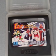 Videojuegos y Consolas: SEGA GAME GEAR TAZ IN SCAPE FROM MARS CARTUCHO+FUNDA ORIGINAL PAL R11033. Lote 205794673