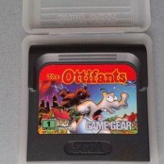 Videojuegos y Consolas: SEGA GAME GEAR THE OTTIFANTS CARTUCHO+FUNDA ORIGINAL PAL R11035. Lote 205794777