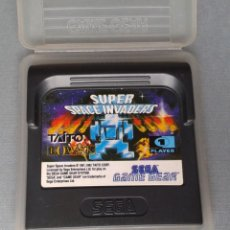 Videojuegos y Consolas: SEGA GAME GEAR TAITO SUPER SPACE INVADERS CARTUCHO+FUNDA ORIGINAL PAL R11036. Lote 205794853
