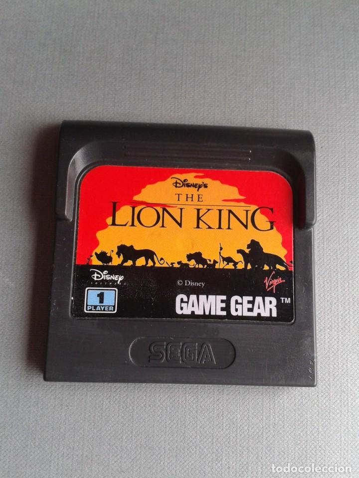 SEGA GAME GEAR DISNEY THE LION KING SOLO CARTUCHO ORIGINAL PAL R11038 (Juguetes - Videojuegos y Consolas - Sega - GameGear)