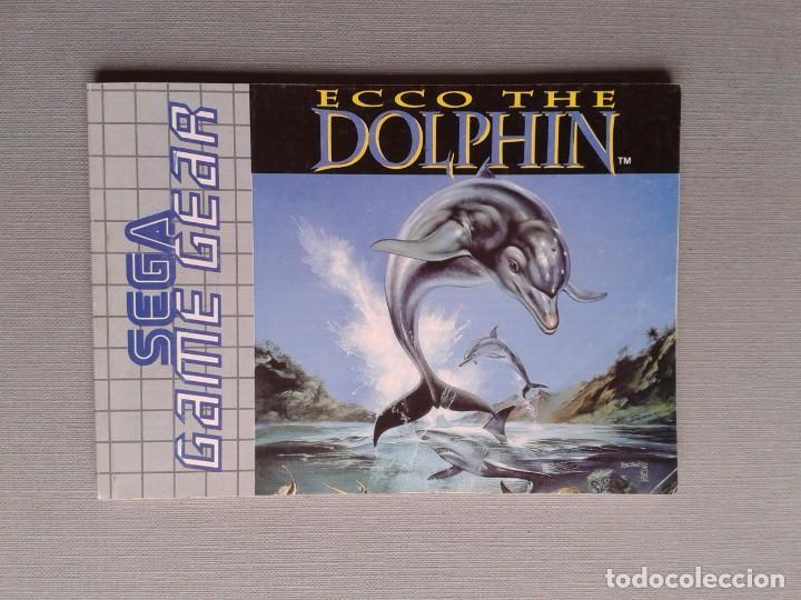 Videojuegos y Consolas: SEGA GAME GEAR ECCO DOLPHIN CON CAJA Y MANUAL COMPLETO CIB PAL R11040 - Foto 3 - 205797238