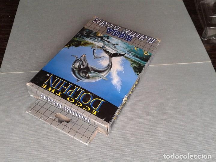 Videojuegos y Consolas: SEGA GAME GEAR ECCO DOLPHIN CON CAJA Y MANUAL COMPLETO CIB PAL R11040 - Foto 4 - 205797238