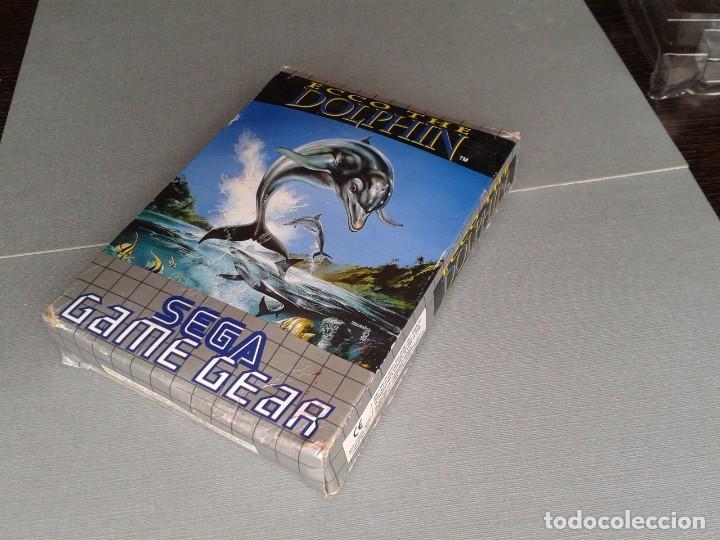 Videojuegos y Consolas: SEGA GAME GEAR ECCO DOLPHIN CON CAJA Y MANUAL COMPLETO CIB PAL R11040 - Foto 5 - 205797238
