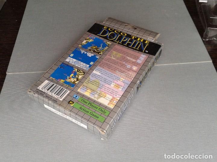 Videojuegos y Consolas: SEGA GAME GEAR ECCO DOLPHIN CON CAJA Y MANUAL COMPLETO CIB PAL R11040 - Foto 6 - 205797238