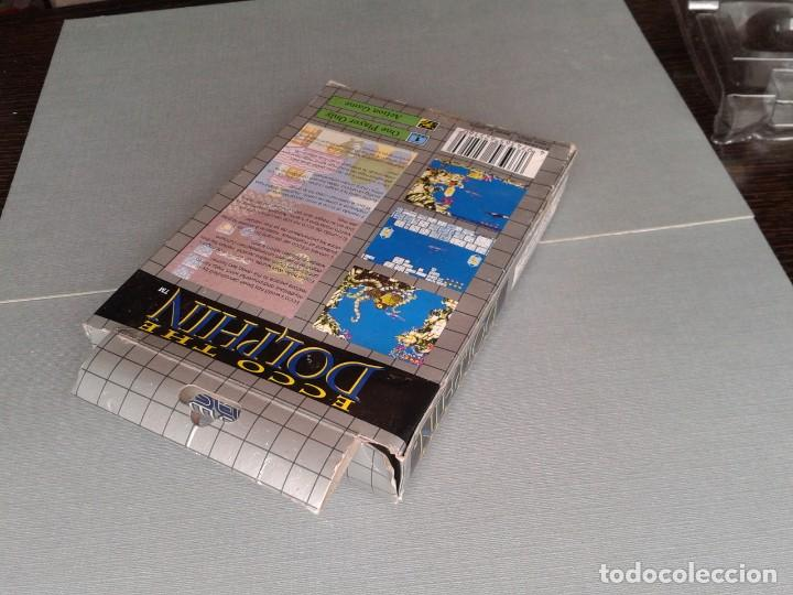 Videojuegos y Consolas: SEGA GAME GEAR ECCO DOLPHIN CON CAJA Y MANUAL COMPLETO CIB PAL R11040 - Foto 7 - 205797238