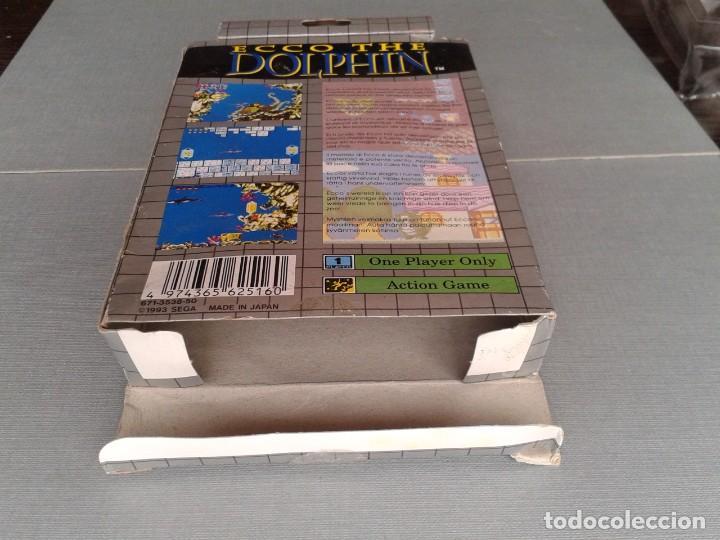 Videojuegos y Consolas: SEGA GAME GEAR ECCO DOLPHIN CON CAJA Y MANUAL COMPLETO CIB PAL R11040 - Foto 8 - 205797238