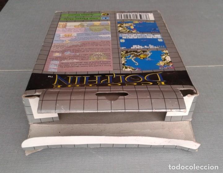 Videojuegos y Consolas: SEGA GAME GEAR ECCO DOLPHIN CON CAJA Y MANUAL COMPLETO CIB PAL R11040 - Foto 9 - 205797238