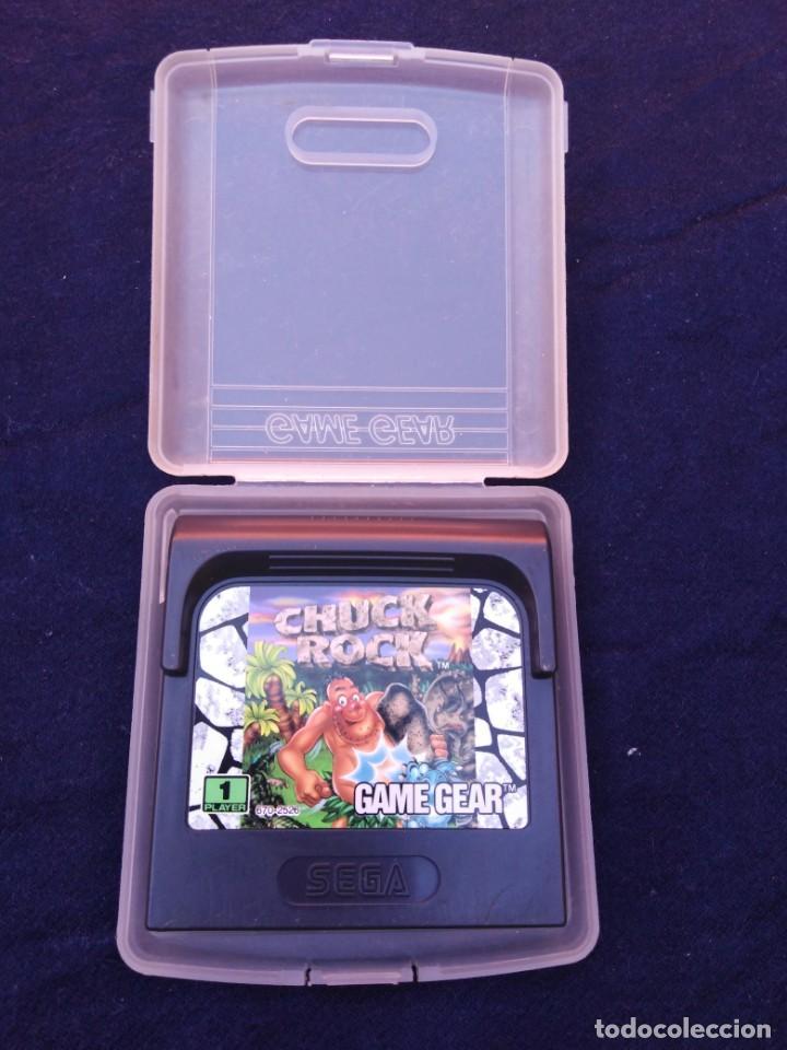 JUEGO GAME GEAR CHUCK ROCK (Juguetes - Videojuegos y Consolas - Sega - GameGear)