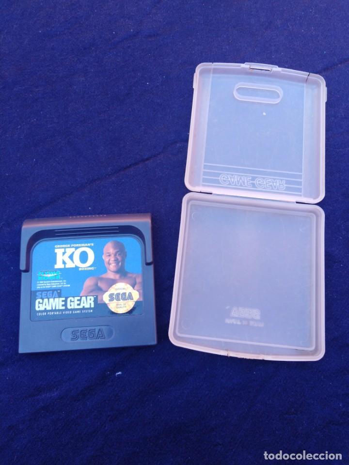 Videojuegos y Consolas: Juego Game Gear George Foreman´s K.O. Boxing - Foto 3 - 206451676