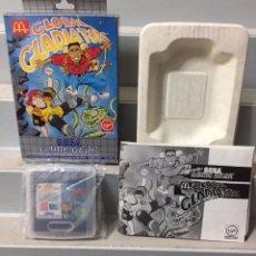 Videojuegos y Consolas: GLOBAL GLADIATOR SEGA GAME GEAR COMPLETO PAL ESPAÑA. Lote 206872783