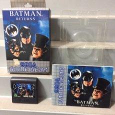Videojuegos y Consolas: BATMAN RETURN SEGA GAME GEAR COMPLETO PAL ESPAÑA. Lote 206873860