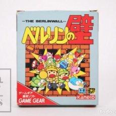 Videojuegos y Consolas: VIDEOJUEGO / JUEGO VIDEOCONSOLA SEGA GAME GEAR - THE BERLINWALL / EL MURO DE BERLÍN - KANEKO, 1991. Lote 206889476