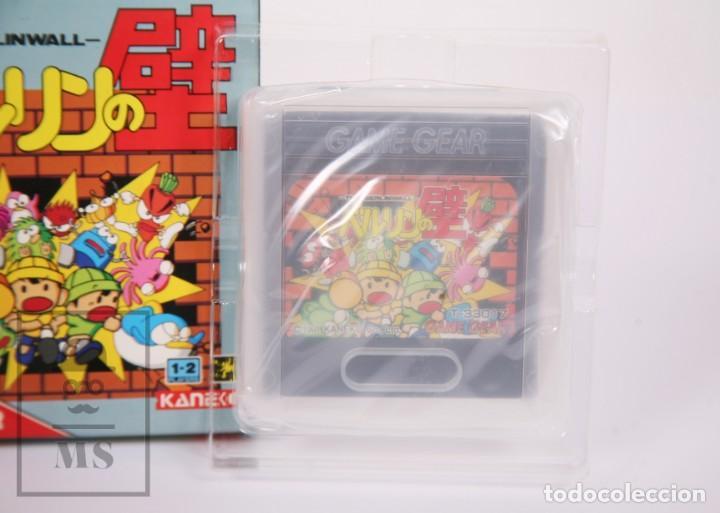 Videojuegos y Consolas: Videojuego / Juego Videoconsola Sega Game Gear - The Berlinwall / El Muro de Berlín - Kaneko, 1991 - Foto 3 - 206889476