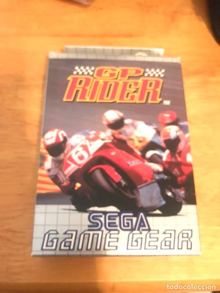 GP RIDER (Juguetes - Videojuegos y Consolas - Sega - GameGear)