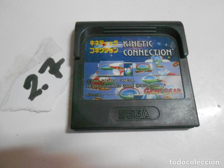 ANTIGUO JUEGO GAMEGEAR KINETIC CONNECTION (Juguetes - Videojuegos y Consolas - Sega - GameGear)
